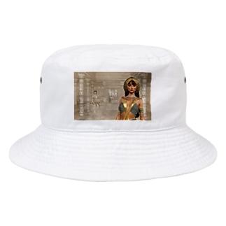 TK-marketのエジプト Tシャツ Bucket Hat