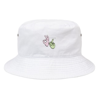 うさぎとかめ Bucket Hat
