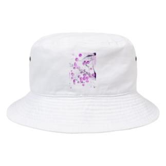 ドット Bucket Hat