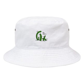 ancolyのちんきゅうり Bucket Hat