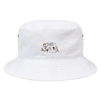 moeyogiroomのyogiな仲間たち Bucket Hat