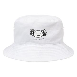 ウーパールーパー Bucket Hat