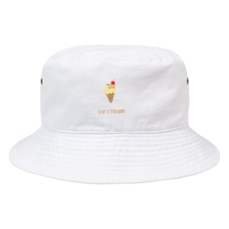 _mojuu-3のice cream Bucket Hat