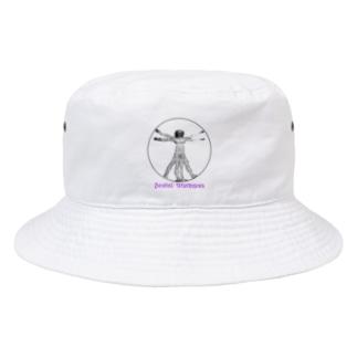ダ・ヴィンチ的ソーシャルディスタンス Bucket Hat