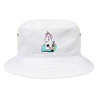 ほろ酔いこんこん Bucket Hat