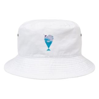 クリームソーダバケットハット Bucket Hat