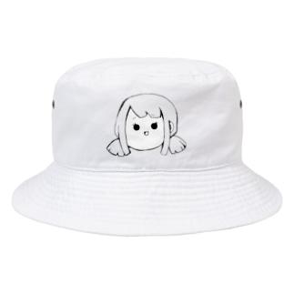 Yatamame ブランド -GIRL- Bucket Hat