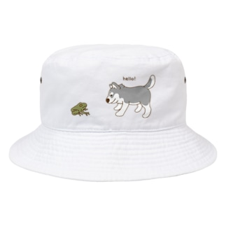 かえるさんこんにちは Bucket Hat