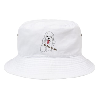 No Dog No Life Bucket Hat