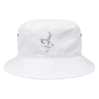 月の王子の帽子 Bucket Hat