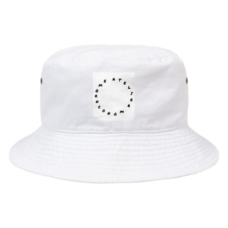丸LOGO Bucket Hat