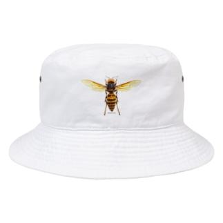 オオスズメバチ女王 Bucket Hat