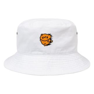 chiffonsanの爆速にゃんこ Bucket Hat