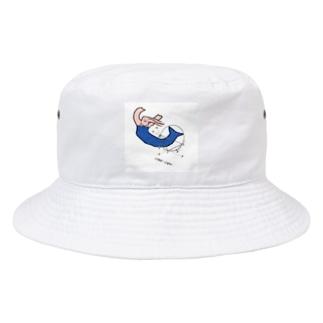 人魚の変なとこ測っちゃお Bucket Hat