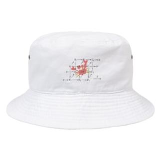 カニさんどいてくれ~ Bucket Hat