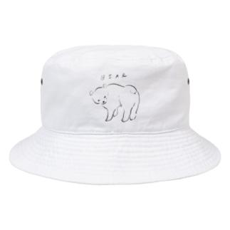 ベアーさん Bucket Hat