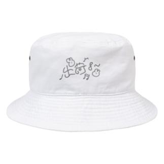 リズムに合わせて出荷よ〜 Bucket Hat