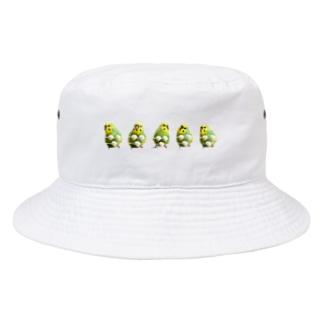 夏のおかゆ 集合 Bucket Hat