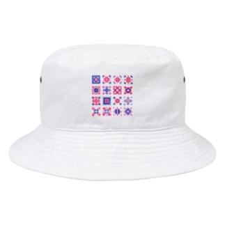 クロスステッチ Bucket Hat