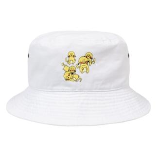密です!しわチュウ Bucket Hat