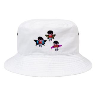 3人の妖精 Bucket Hat