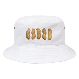 5ピーナッツ Bucket Hat
