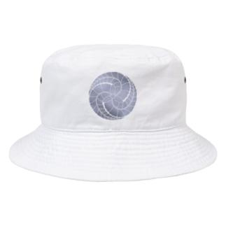 藤巴紋(藤色) Bucket Hat