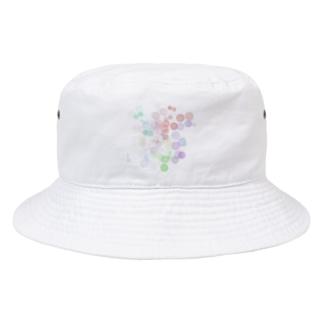 ポワポワ Bucket Hat
