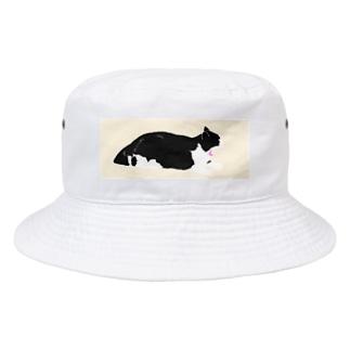ねこ Bucket Hat