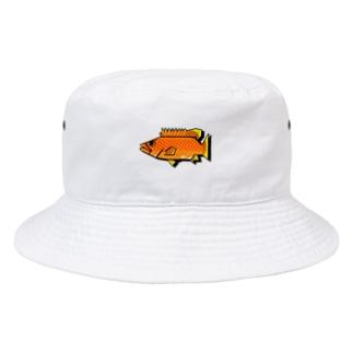 キジハタ(アコウ) Bucket Hat