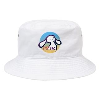 ミミタンのミミタン2000夏 青-黄(supesharu) Bucket Hat
