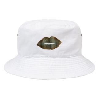 モードなくちびる Bucket Hat