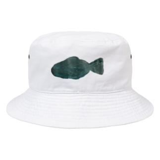 シンプルなさかな Bucket Hat