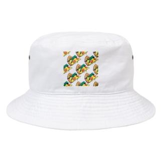 欲望のピザ🍕 GUILTY PLEASURE PIZZA AO TRANSPARENCY Bucket Hat