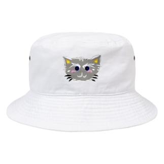 はいiroねこちゃん Bucket Hat