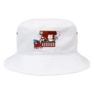イカのたこ焼き屋さん Bucket Hat