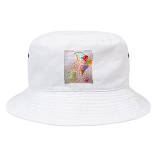 Bear Gummy Parfeit(candy beige ver.) Bucket Hat