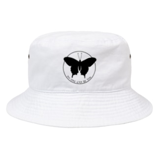 蝶々 Bucket Hat