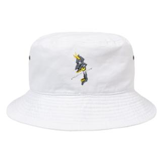 メカニカル般若 Bucket Hat