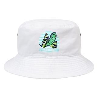ミツマメ三兄弟 Bucket Hat