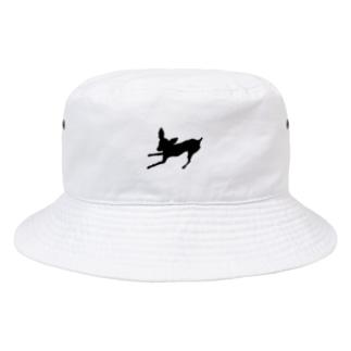 ミニピンのあずきちゃん Bucket Hat