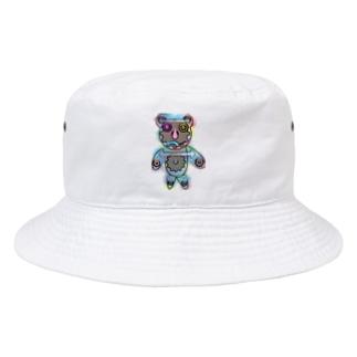クマの歯車 Bucket Hat
