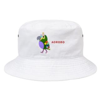 ROBOBO アオボウシインコ Bucket Hat