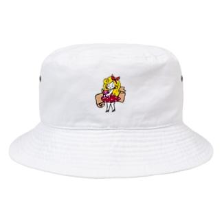レトロガール Bucket Hat