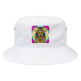 まんまんちゃん Bucket Hat