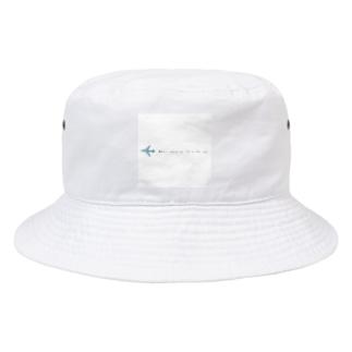 ひこうきぐも Bucket Hat