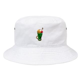 クリームソーダ食べたい Bucket Hat