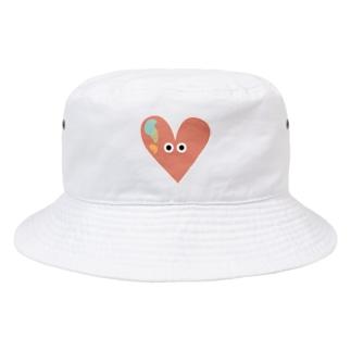 ALPHABET MONSTERS「♡」 Bucket Hat