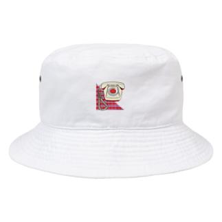 電話 Bucket Hat