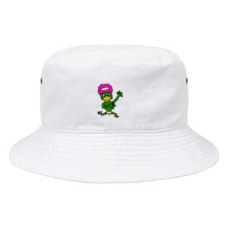 大学デビュー河童 Bucket Hat